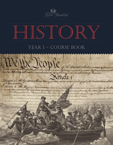 History 1- homeschool history curriculum course book