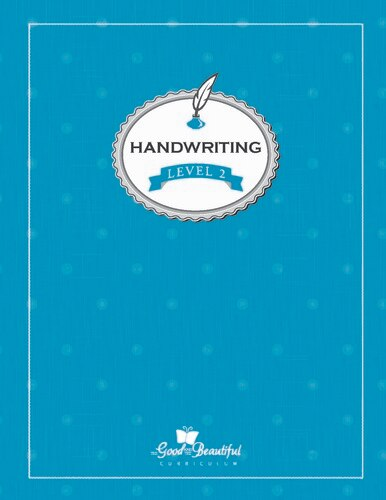 A handwriting workbook for 2nd grade, teaching cursive. To supplement homeschooling Language Arts.