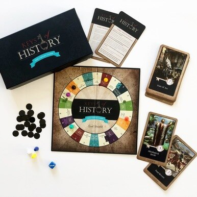 Keys of History game. Accompanies History 1 homeschool history curriculum