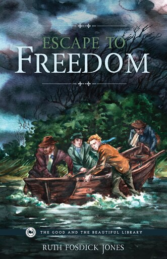 From The Good and the Beautiful library, Escape to Freedom by Ruth Fosdick Jones, a historical fiction about slavery and the underground railroad. A good book to accompany homeschool history curriculum.