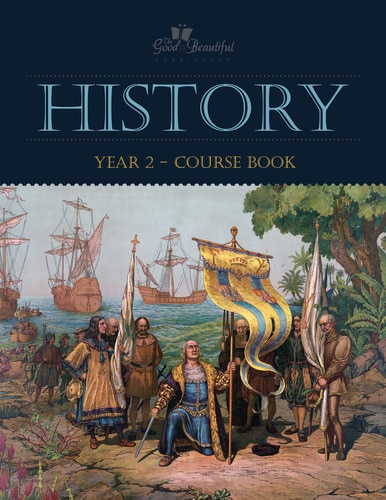 History 2- homeschool history curriculum course book