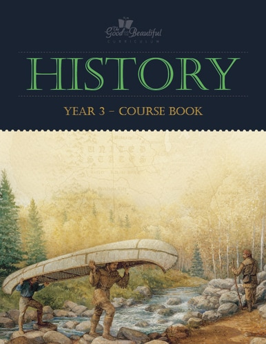 History 3- homeschool history curriculum course book