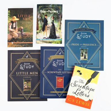 Homeschool High School Honors Book Studies for use with Language Arts Curriculum