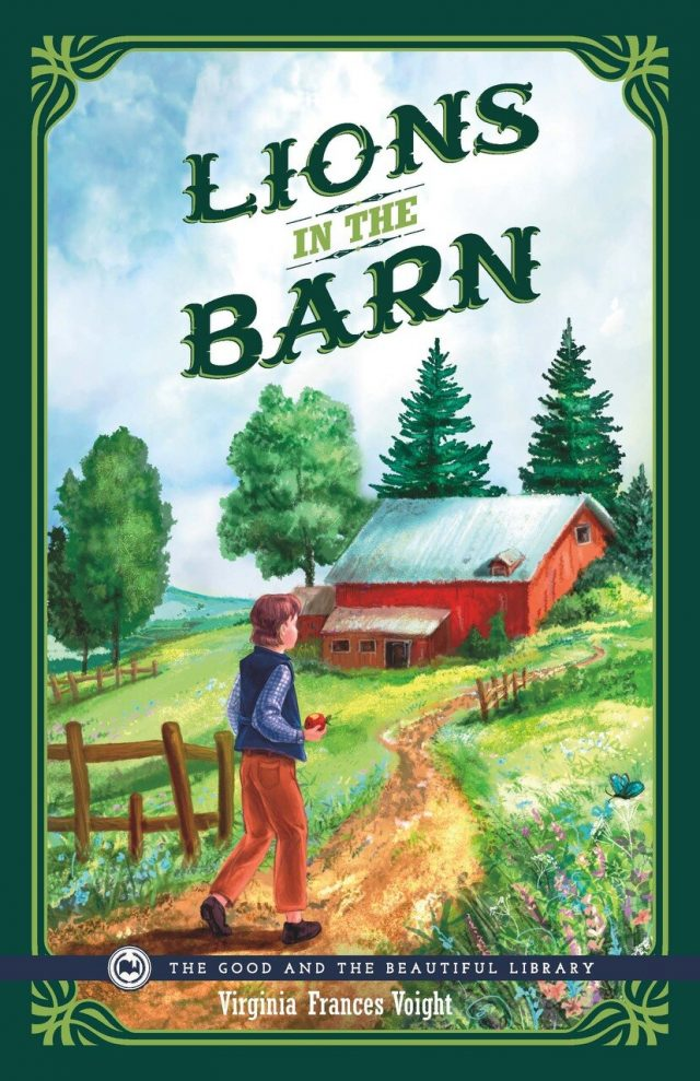 Lions in the Barn by Virginia Voight