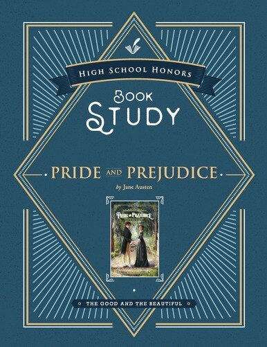 A Book Study to accompany Pride and Prejudice by Jane Austen. Used as a part of honors program for the high school homeschool curriculum.