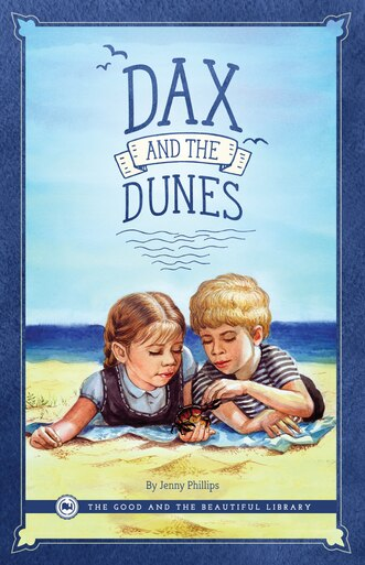 Front Cover Dax and the Dunes By Jenny Phillips - 1A