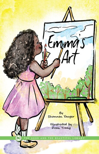 Front Cover Emma's Art By Shannen Yauger - 1A