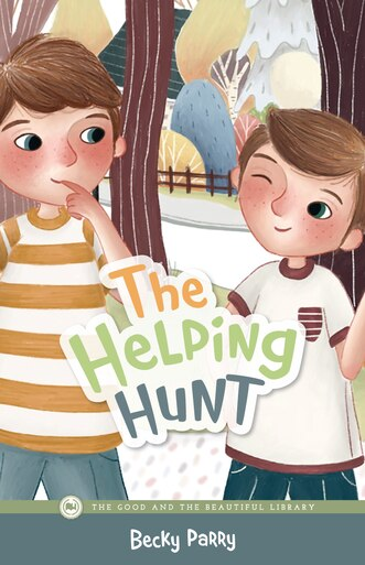 Front Cover The Helping Hunt By Becky Parry - 1A