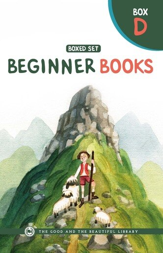 Beginner Books Box D—10 full color, illustrated early readers in a slipcover box