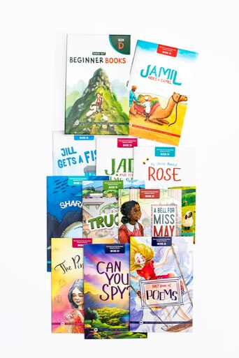 Beginner Books D- Set of 10 books to read for beginners with phonograms and short words. Includes short stories and beautiful illustrations.