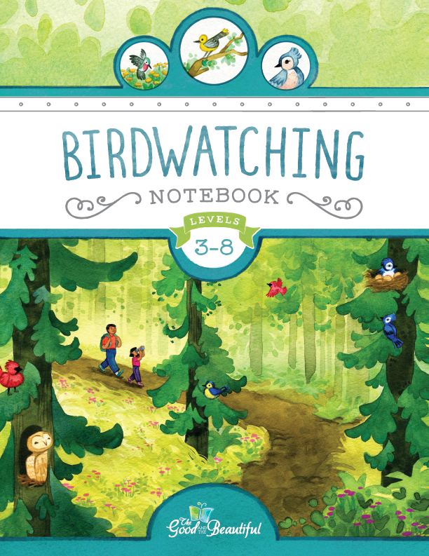 The Birdwatching Notebook includes one-of-a-kind games, activities, and guides.