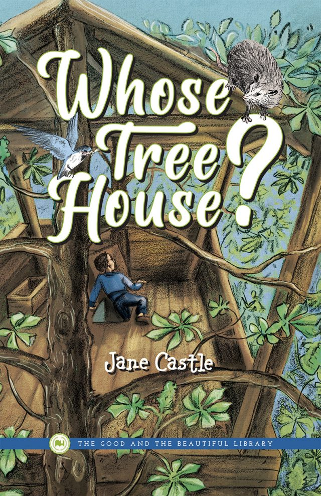 Front Cover Whose Tree House? By Jane Castle